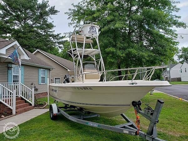 Used Key West 202 Center Console Fishing Boat For Sale