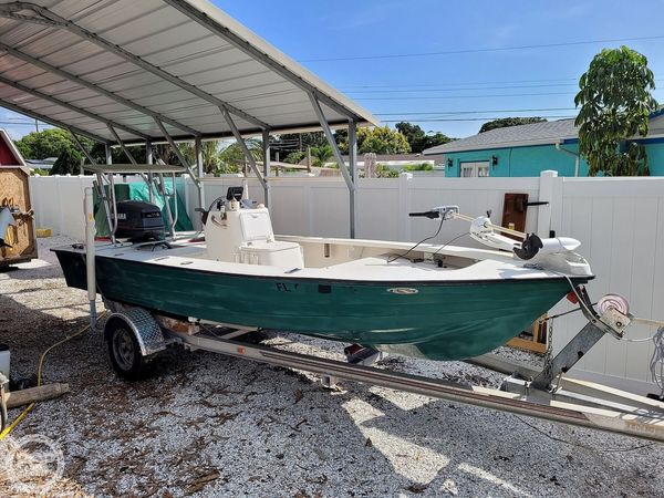 Used Hewes 17 Bonefisher Flats Fishing Boat For Sale
