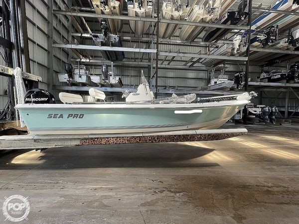 Used Sea Pro SV1900 Center Console Fishing Boat For Sale