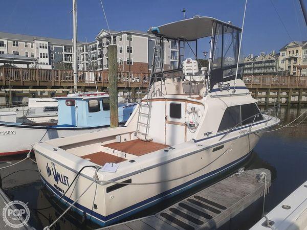 Used Phoenix 29 Fly Bridge Sports Fishing Boat For Sale