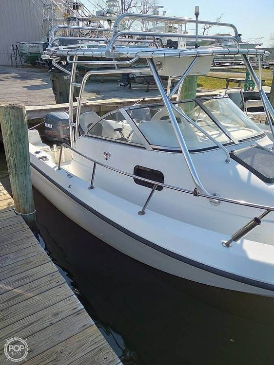 Used Hydra-Sports 21 Walkaround Fishing Boat For Sale
