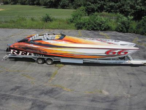 Used Skater Supreme 46 High Performance Boat For Sale