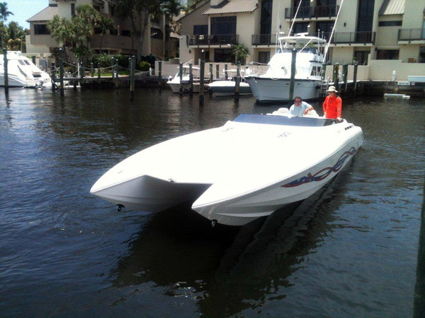 Used Eliminator Cat High Performance Boat For Sale
