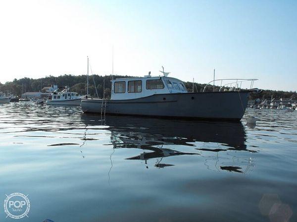 Used Billings Marine 42 Maine Marine Patrol Downeast Fishing Boat For Sale