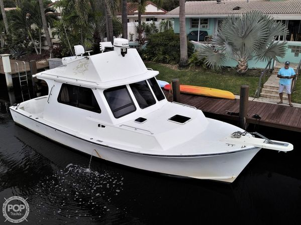 Used Crusader 34 Pilothouse Boat For Sale