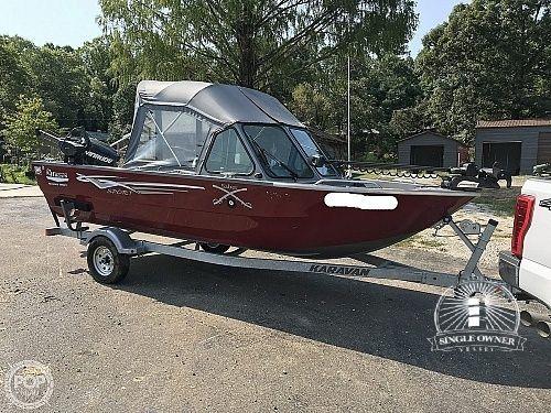 Used River Hawk 170 Sea Hawk Aluminum Fishing Boat For Sale