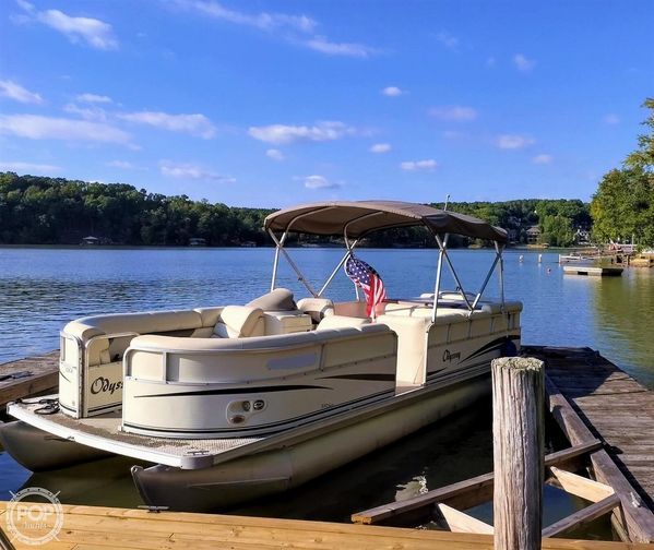 Used Odyssey 322CR Pontoon Boat For Sale
