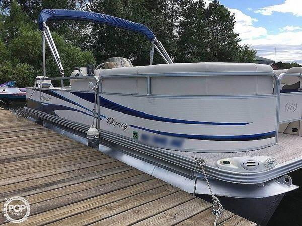 Used Manitou Osprey Pontoon Boat For Sale