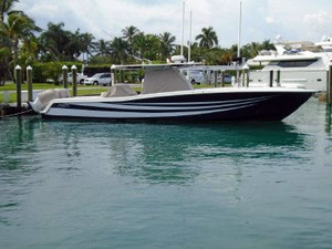Used Invincible 42 Open Pontoon Boat For Sale