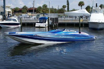 Used Nor-Tech 36 Supercat High Performance Boat For Sale