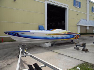 Used Power Play 38 Sport High Performance Boat For Sale