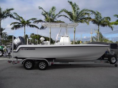 New Contender 22 Center Console Fishing Boat For Sale