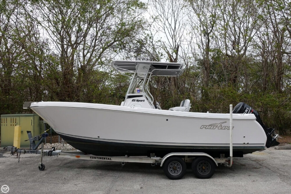 2015 used pro line 23 sport center console fishing boat for Center console sport fishing boats