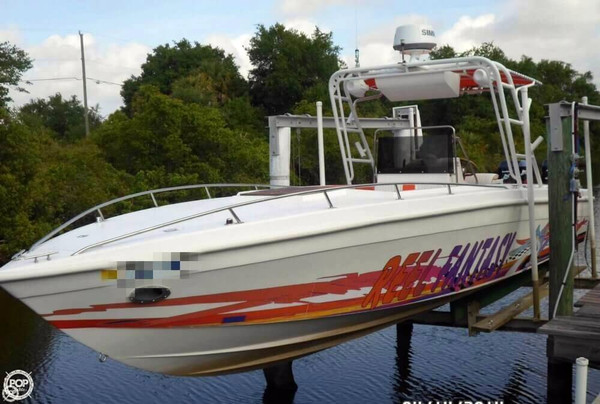 Used Scarab Sport 30 High Performance Boat For Sale