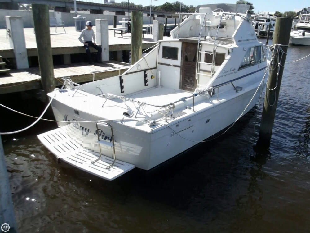 1969 used chris craft 310 commander sport fish sports for Sport fishing boats for sale