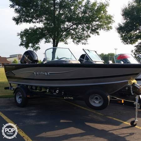 2014 used lund 18 aluminum fishing boat for sale 38 900 for Used aluminum fishing boats
