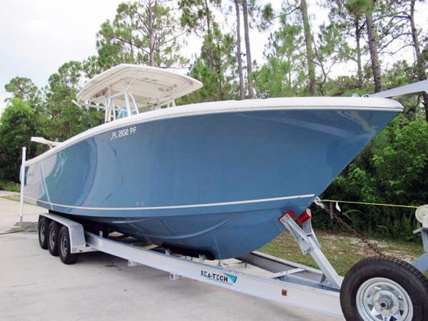 Used Sailfish 3160 Center Console Center Console Fishing Boat For Sale