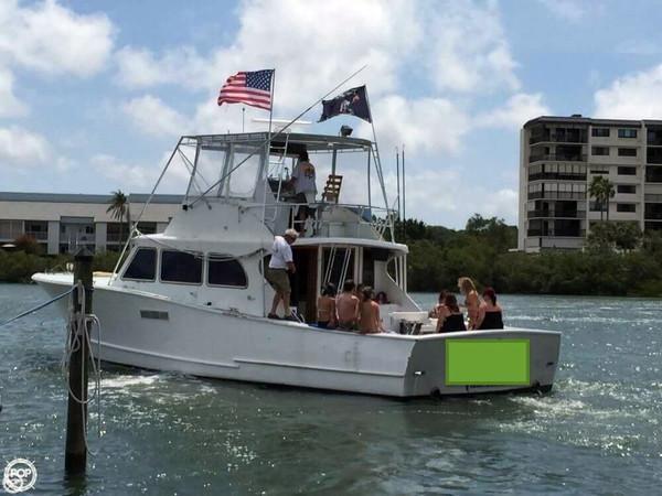 Used Ray Davis 46 Sportfish Sports Fishing Boat For Sale