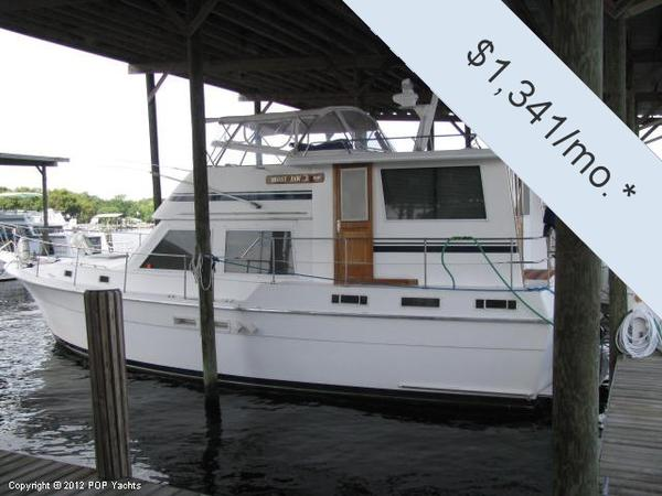 Used Gulfstar 44 Motoryacht Cruiser Boat For Sale