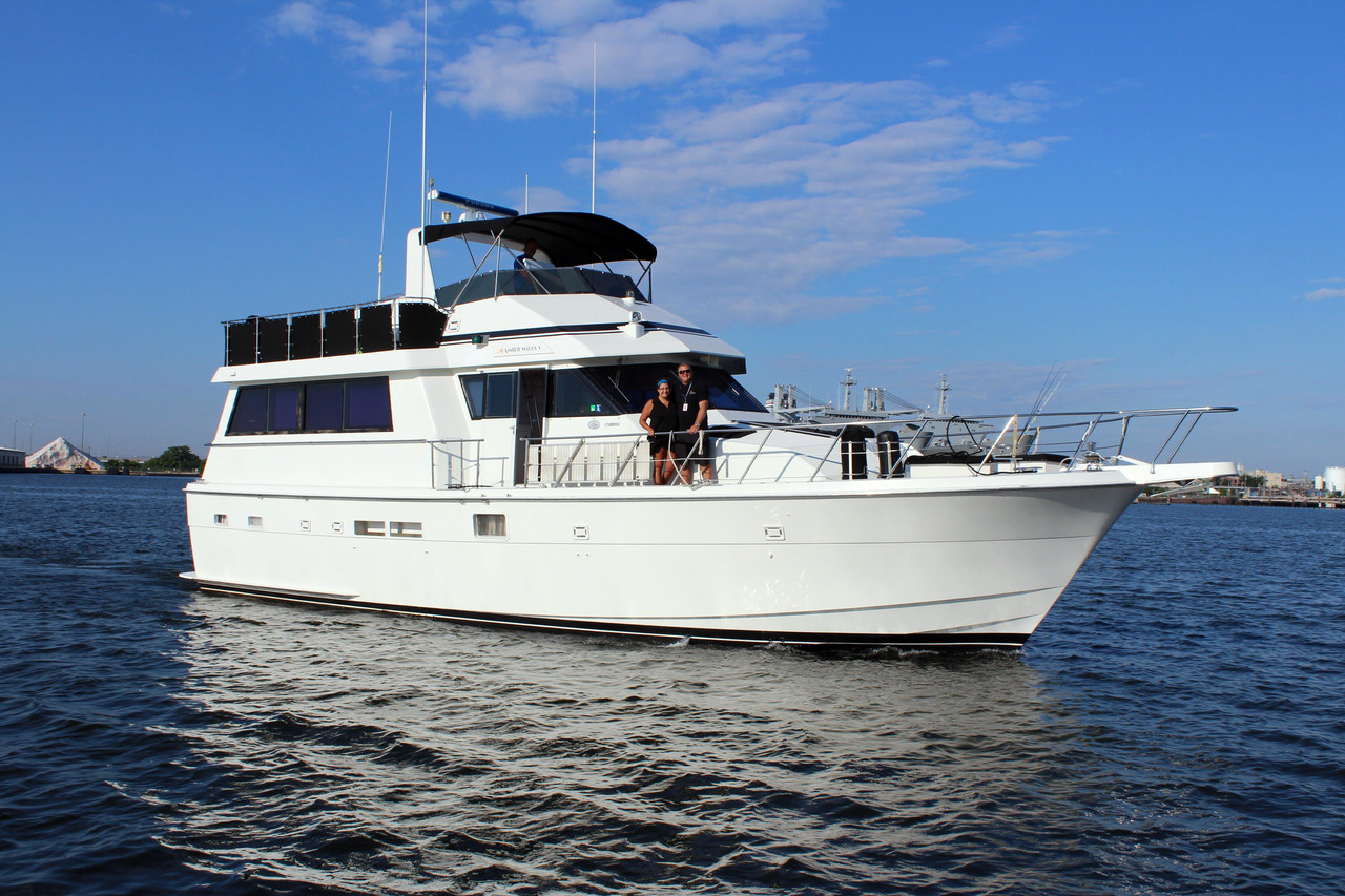 1990 used hatteras 54 motor yacht edmy motor yacht for for Used motor yacht for sale