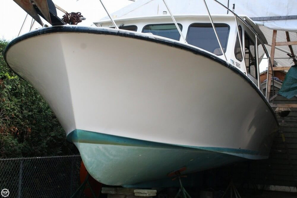Used Glenn Young 32 Downeast Fishing Boat For Sale