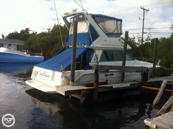 Used Sea Ray 370 Sedan Bridge Express Cruiser Boat For Sale