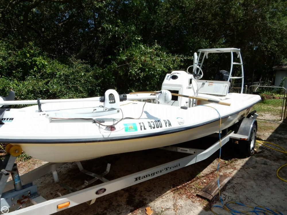 2008 used ranger boats 173 ghost flats boat flats fishing for Fishing boat for sale