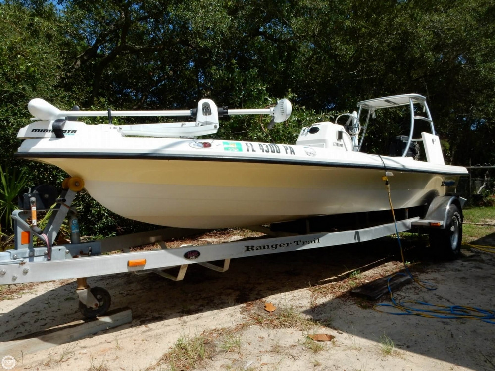 2008 used ranger boats 173 ghost flats boat flats fishing for Flats fishing boats