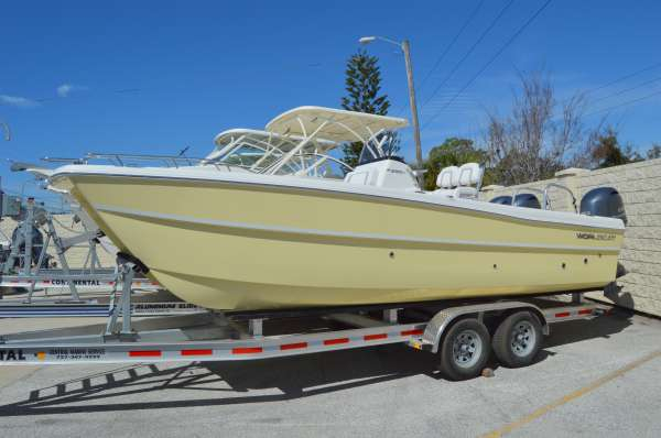 New World Cat 230CC Center Console Power Catamaran Boat For Sale