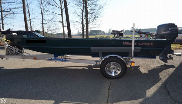 Used Weldcraft 1656 Bass Boat For Sale