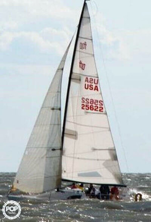 Used Flying Tiger 10 Meter Racer and Cruiser Sailboat For Sale