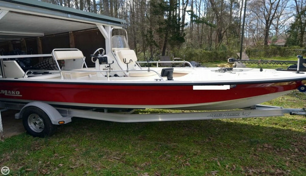 Used Mako 18 LTS Bass Boat For Sale