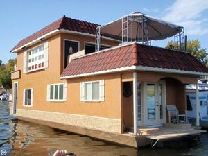 Used Custom 50 Houseboat House Boat For Sale