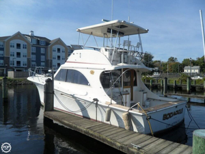 Used Jersey 42 Jersey Dawn Sports Fishing Boat For Sale