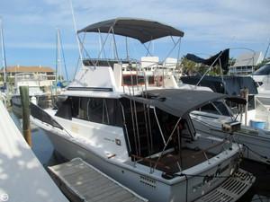 Used Trojan 32 Flybridge Sports Fishing Boat For Sale