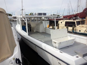 Used Defender 37 Cruiser Boat For Sale