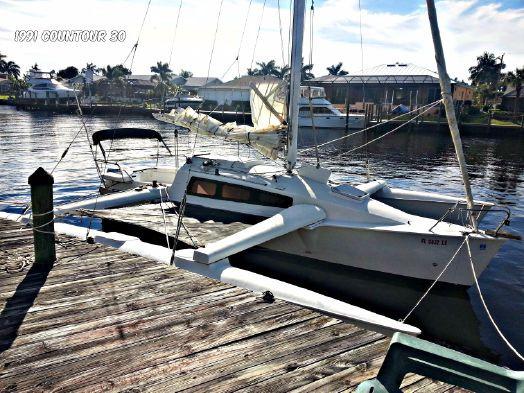 Used Contour Yachts 30 Mk I Trimaran Sailboat For Sale