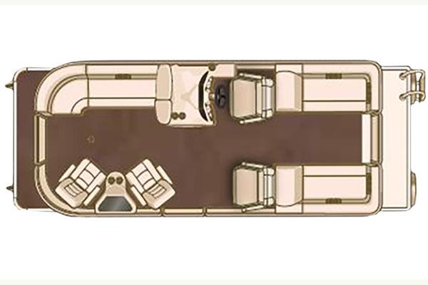 New Starcraft MX 23 LP Pontoon Boat For Sale