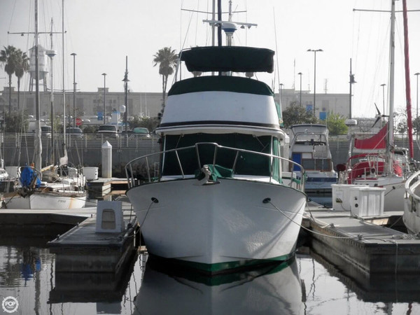 Used Chb 34 Double Cabin Trawler Boat For Sale