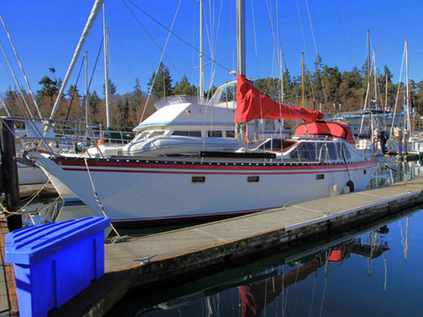 Used Cooper 416 Pilothouse Sloop House Sailboat For Sale