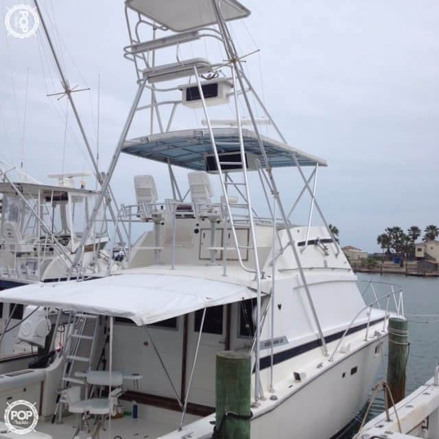 1980 used bertram 38 iii convertible sports fishing boat for Fishing boats for sale in texas