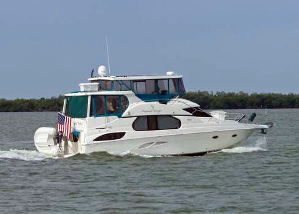 2003 Used Silverton 43 Motor Yacht Aft Cabin Boat For Sale