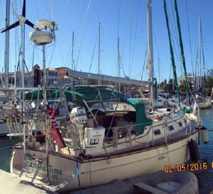 Used Island Packet Yachts 380 Cruiser Sailboat For Sale