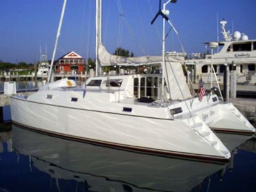 Used Horstman Custom 38 Catamaran Cruiser Sailboat For Sale