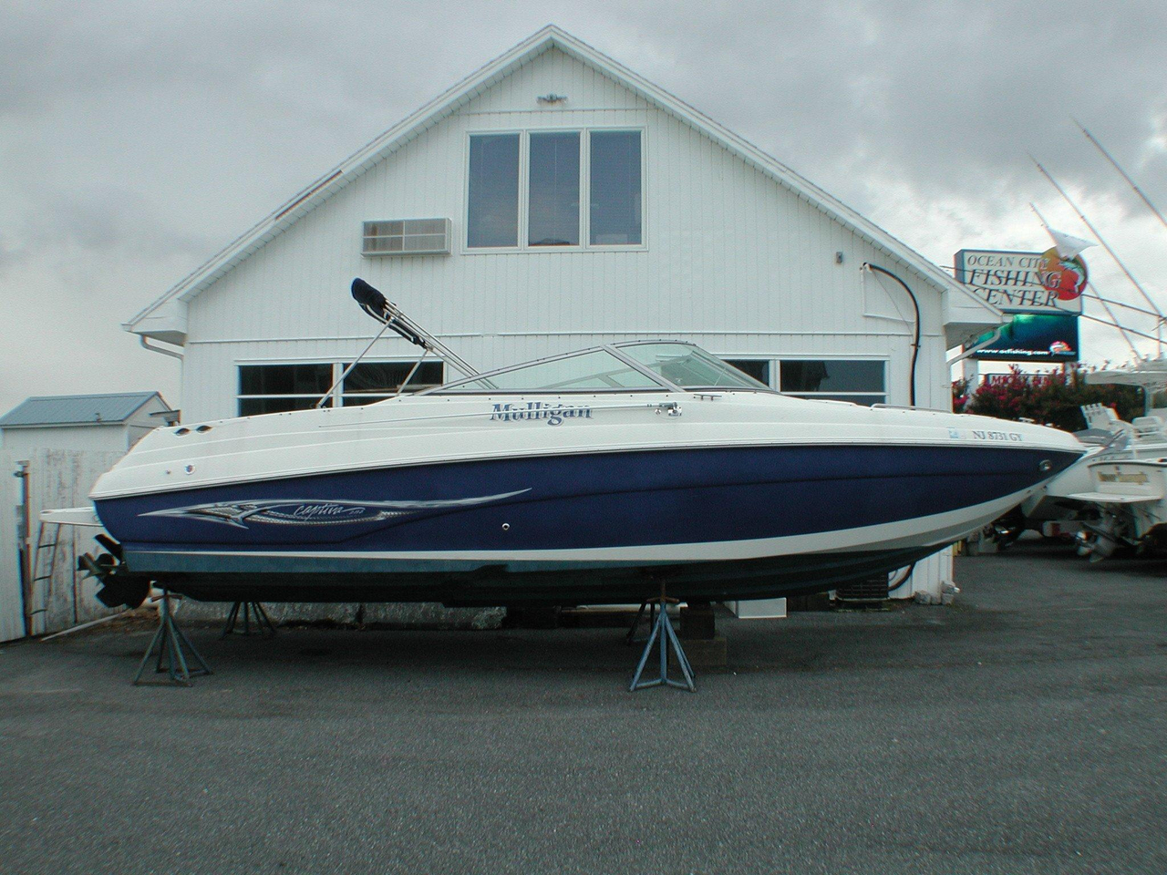 2007 Used Rinker 282 Captiva Bowrider Boat For Sale