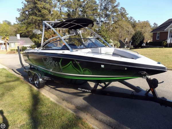 Used Supra 24V Bro Stock Edition Ski and Wakeboard Boat For Sale