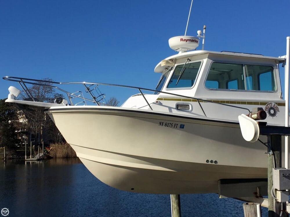 2008 used steiger craft 26 chesapeake pilothouse boat for for Used steiger craft for sale