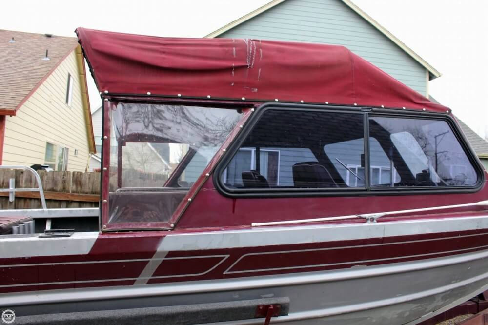 1989 Used North West 21 Aluminum Fishing Boat For Sale ...