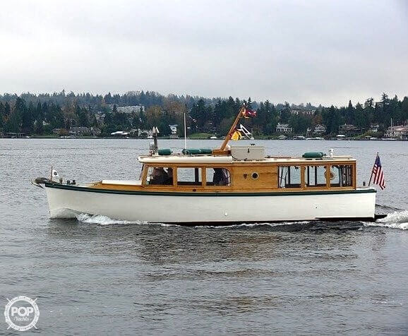 Used Freeman 32 Custom Classic Antique and Classic Boat For Sale