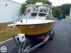 Used Seacraft 23 Sceptre Walkaround Fishing Boat For Sale